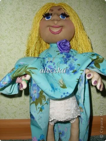 Вот моя куколка Олеся. Платье снимается.  фото 3
