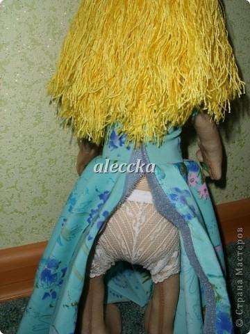Вот моя куколка Олеся. Платье снимается.  фото 4
