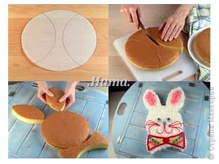 Как сделать форму для торта в домашних условиях