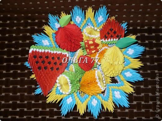 Ваза с фруктами. фото 1
