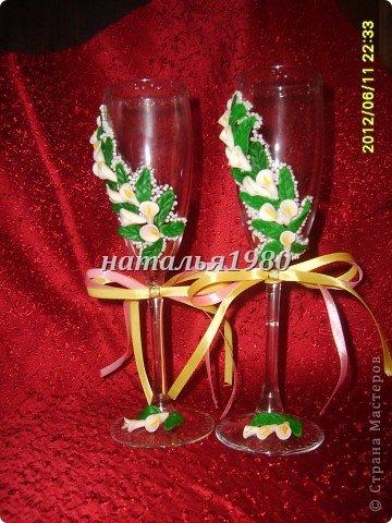 бокалы для свадеб фото 2