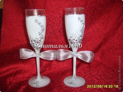 бокалы для свадеб фото 3