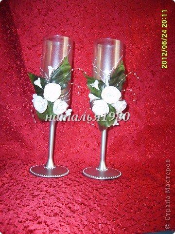 бокалы для свадеб фото 1