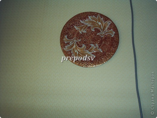 Африканская тарелка с кракле. фото 5