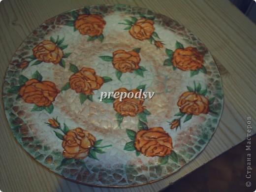 Африканская тарелка с кракле. фото 2