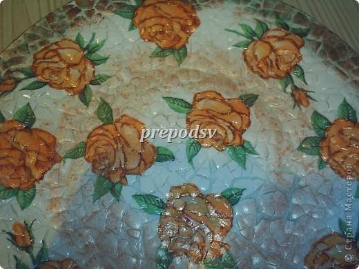 Африканская тарелка с кракле. фото 3