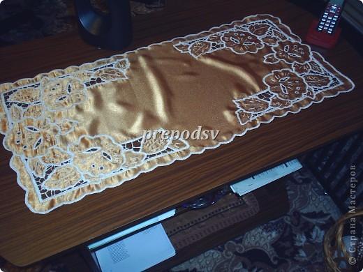 Скатерть для снохи, рисунок брала из журнала Лена-рукоделие. фото 16