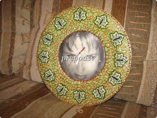 Африканская тарелка с кракле. фото 18