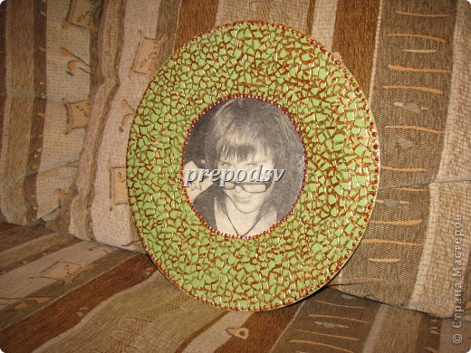 Африканская тарелка с кракле. фото 15