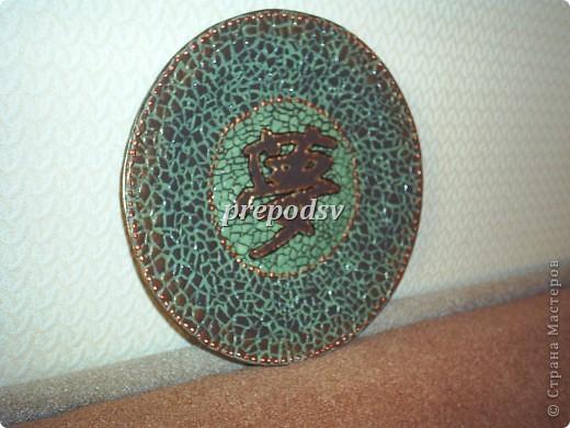 Африканская тарелка с кракле. фото 7