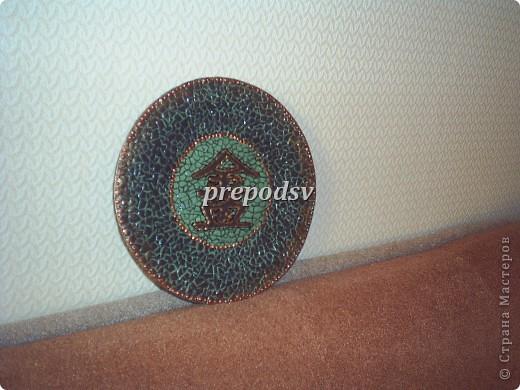 Африканская тарелка с кракле. фото 11