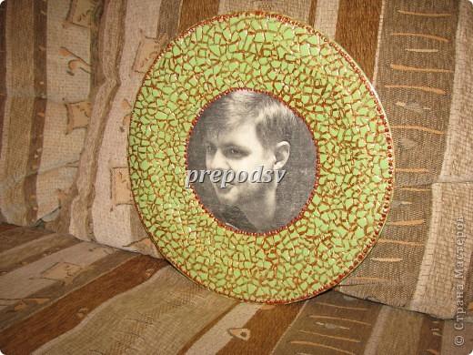 Африканская тарелка с кракле. фото 17