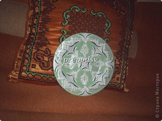 Африканская тарелка с кракле. фото 4