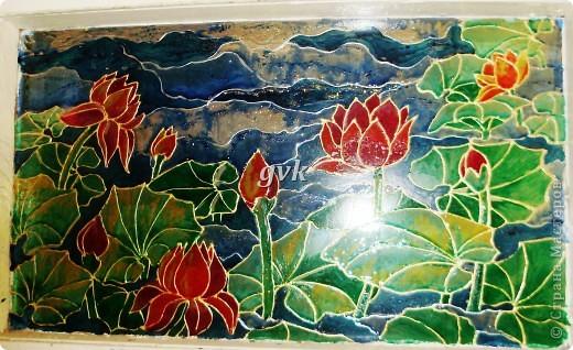 Роспись акриловыми и витражными красками по стеклу. фото 8