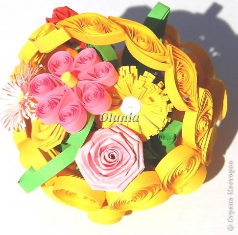 Выкладываю свои любимые корзиночки.  Когда-то именно корзинка с цветами стала моим первым серьезным творением. фото 1