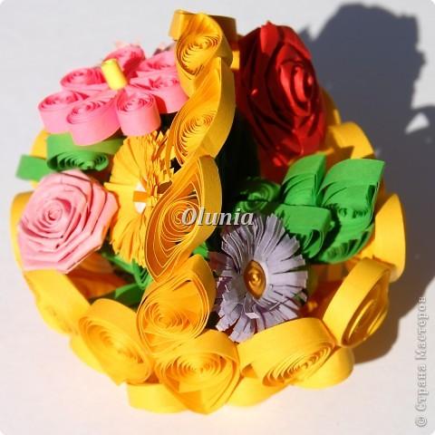 Выкладываю свои любимые корзиночки.  Когда-то именно корзинка с цветами стала моим первым серьезным творением. фото 2
