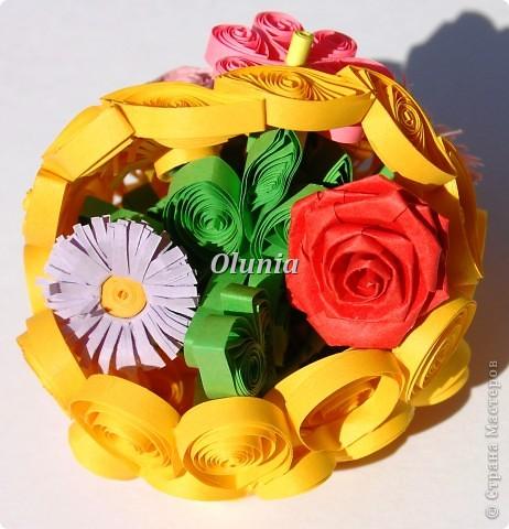 Выкладываю свои любимые корзиночки.  Когда-то именно корзинка с цветами стала моим первым серьезным творением. фото 3