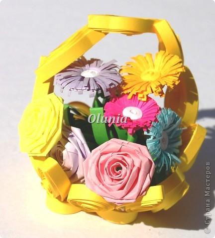 Выкладываю свои любимые корзиночки.  Когда-то именно корзинка с цветами стала моим первым серьезным творением. фото 5