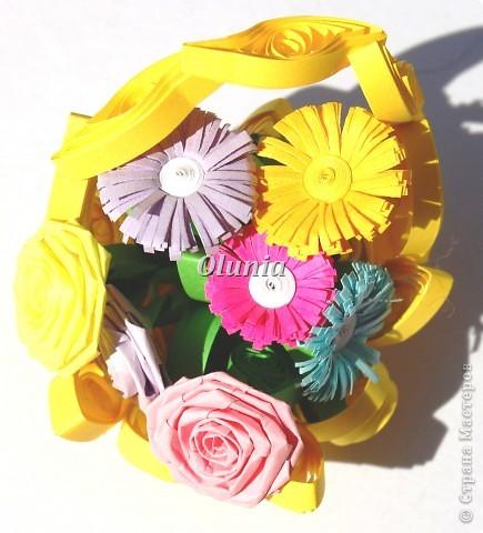 Выкладываю свои любимые корзиночки.  Когда-то именно корзинка с цветами стала моим первым серьезным творением. фото 6