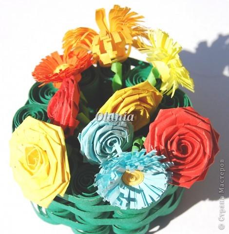 Выкладываю свои любимые корзиночки.  Когда-то именно корзинка с цветами стала моим первым серьезным творением. фото 7