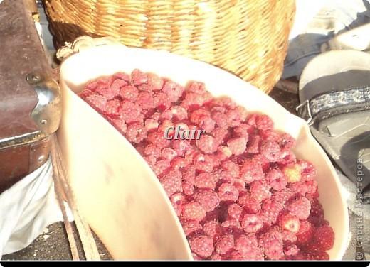 Собираем ягоду в с осени приготовленные корзиночки фото 5