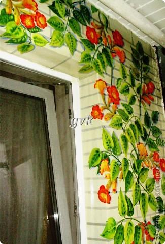 Роспись акриловыми и витражными красками по стеклу. фото 10