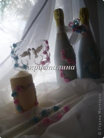 набор голубой+розовый)))) фото 5