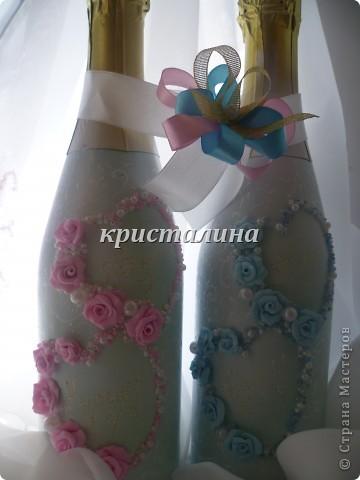 набор голубой+розовый)))) фото 4