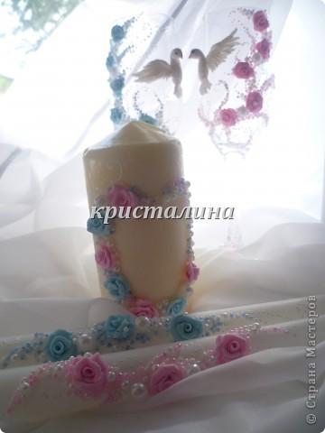 набор голубой+розовый)))) фото 3