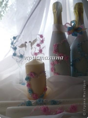 набор голубой+розовый)))) фото 1