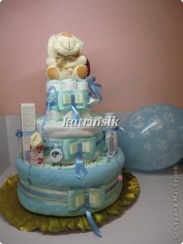 Торт для племянника и его мамочки.