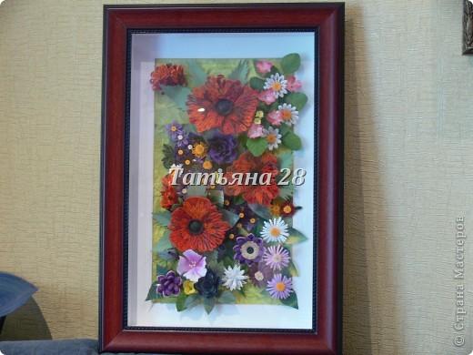 Сегодня у меня цветочная картина))) По настоящему летняя))) фото 5