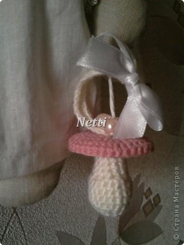 Этого Ангелочка я сшила в подарок для новорожденной девочки. Теперь эта девочка стала моей крестницей и ангелок висит у нее над кроваткой)))))))))))))) фото 3