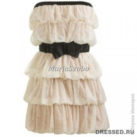 Увидела это платье в интернете (ссылки не осталось, автора тоже не знаю)  и влюбилась в него в первого взгляда!!!! Решила - хочу его!!! фото 1