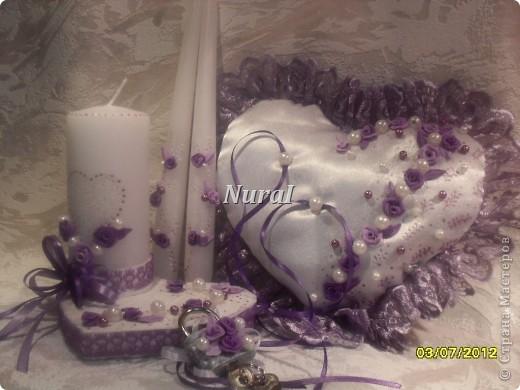 Всем огромный привет. Вот и у меня появился набор в сиренево-фиолетовых тонах. За фото прошу прощения. фотографировала в последний момент. фото 7