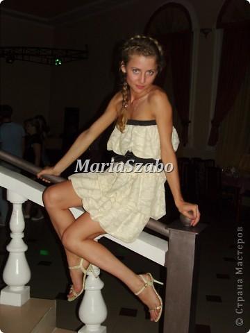 Увидела это платье в интернете (ссылки не осталось, автора тоже не знаю)  и влюбилась в него в первого взгляда!!!! Решила - хочу его!!! фото 2