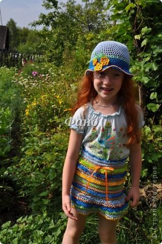 Сто лет не вязала ничего, кроме шапочек и игрушек.. :) Вдохновилась новым конкурсом от Голубки, в результате- вот :) фото 12