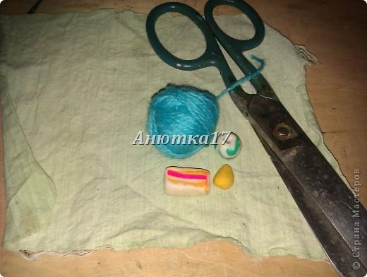 Материал: *пряжа и ткань   фото 1