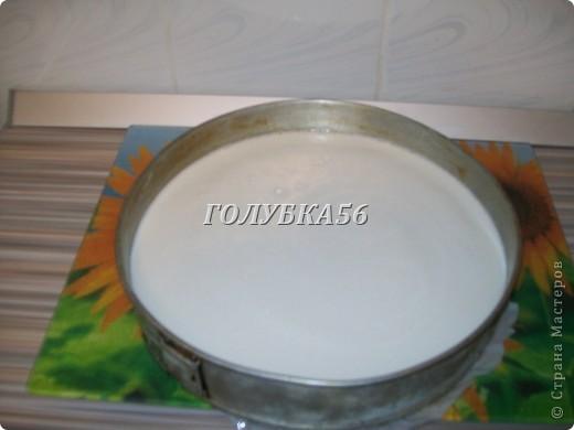 Творожный торт Хочу поделиться рецептом торта, который не нужно запекать в духовке. Я готовлю его в холодильнике. фото 7