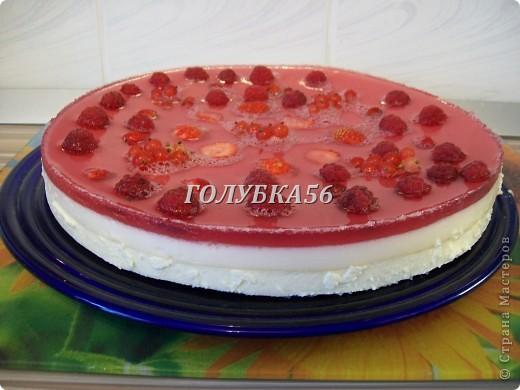 Творожный торт Хочу поделиться рецептом торта, который не нужно запекать в духовке. Я готовлю его в холодильнике. фото 1