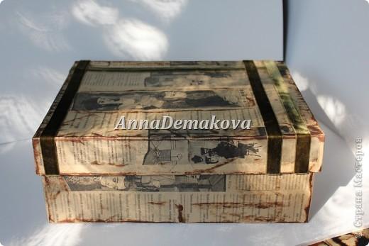 Попробовала сделать ещё коробочки. Их можно использоваит и как коробочку для денежного подарка и как шкатулочку под всякие мелочи. Хотела отнести их в магазин, но мне позвонили и предложили поучаствовть в выставке. Я согласилась и отдала их на выставку, которая состоится 5 августа. фото 9