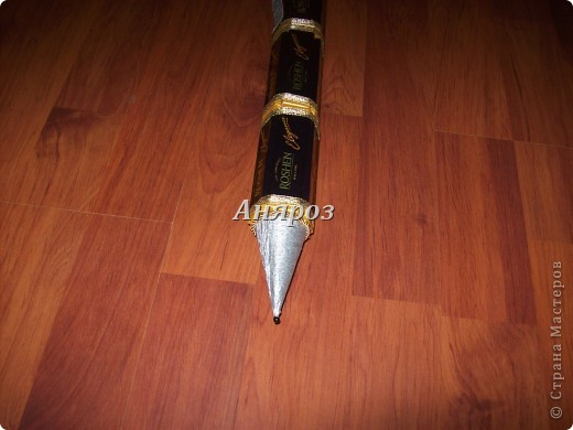"""Доброго дня всем, кто заглянул ко мне. Вот показываю ручку. Это первый """"блинчик"""". На ней я училась. Очень хорошо видны недочёты. фото 5"""