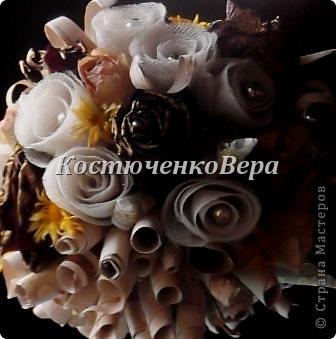 Бонсай топиарий Мастер-класс 8 марта День матери Моделирование конструирование Цветы из марли и тюля и ещё мелочь МК-мини Бусины Клей Ткань фото 16