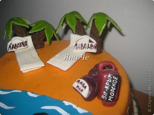 Такой тортик мы взяли на море... фото 2