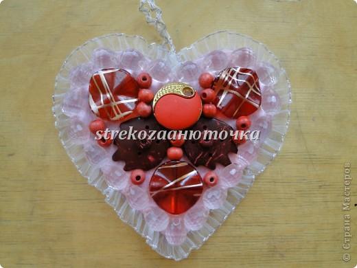 Пуговичное сердечко фото 13