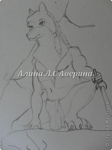 Мои рисунки, правдо многие интернетные я память тренировала и много не очень акуратно Охотник фото 1