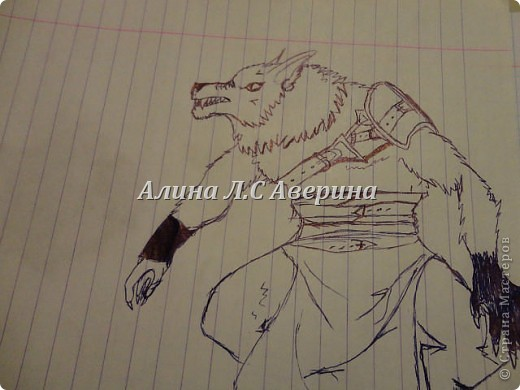 Мои рисунки, правдо многие интернетные я память тренировала и много не очень акуратно Охотник фото 10