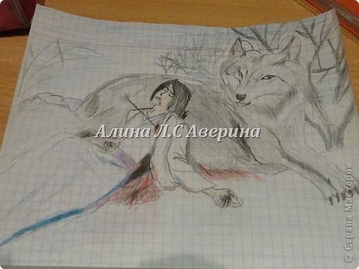 Мои рисунки, правдо многие интернетные я память тренировала и много не очень акуратно Охотник фото 14