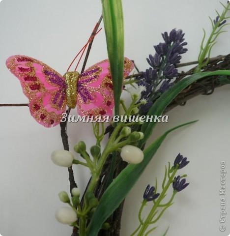 Всем привет!!!!!!!!! Я к вам с венком из лаванды))) И бабочек))  фото 5