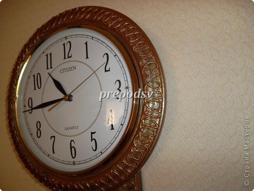 Часы были немного скучноваты, да и темные, мне к интерьеру не очень подходили. фото 3